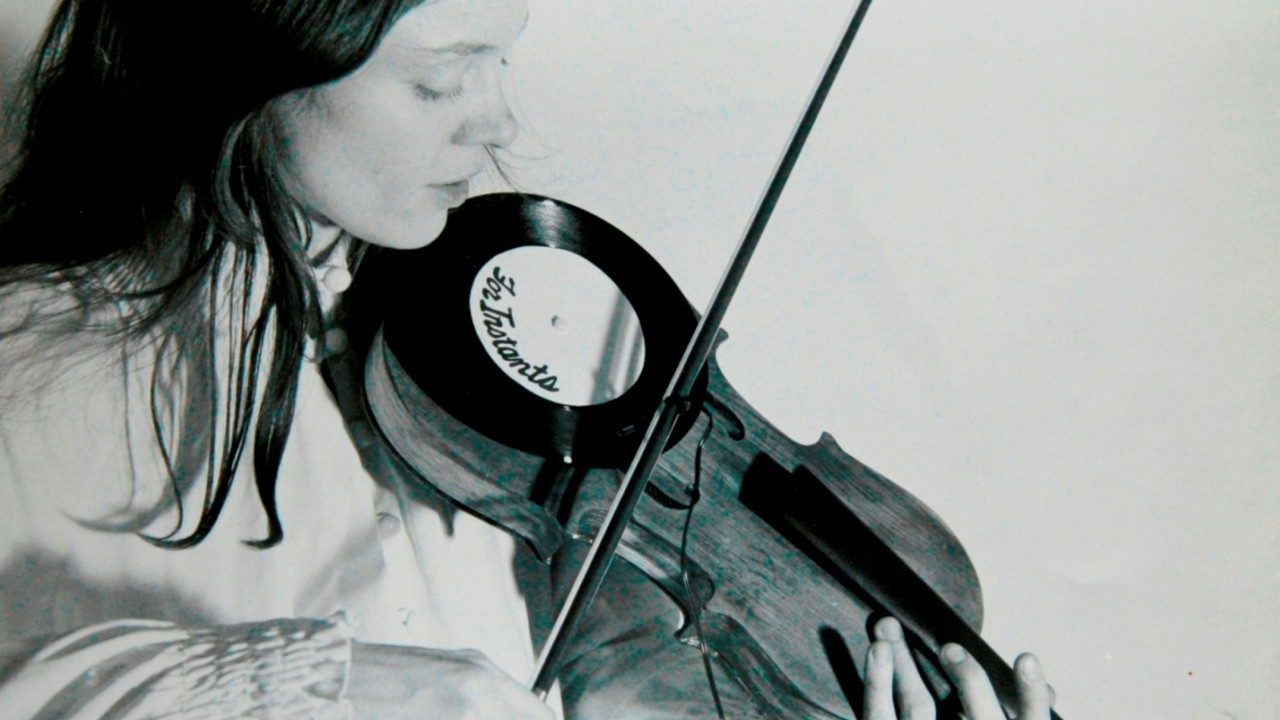 Laurie Anderson: Tape Bow Violin