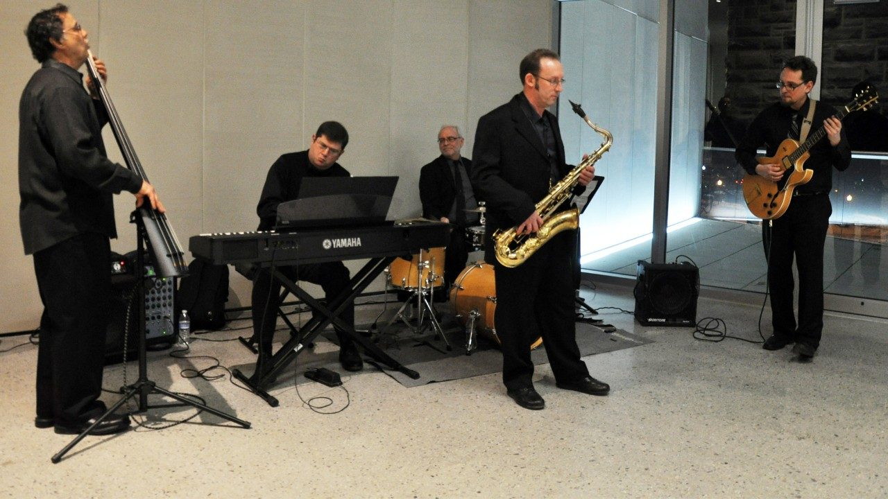Highlands Jazz Quartet at the Moss Arts Center