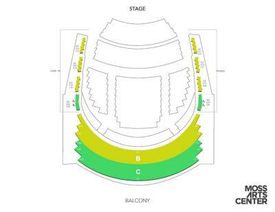 balcony seating chart
